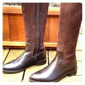 SALE!  Aquatalia Brown Italian Leather Boots